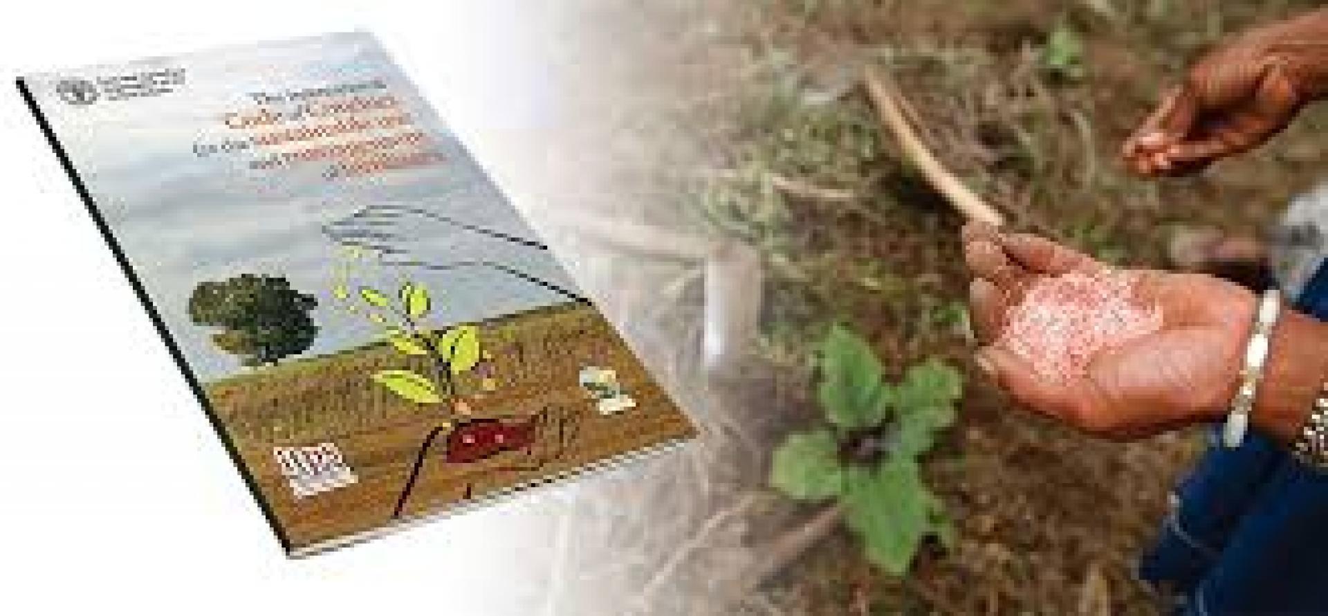 Gedragscode FAO voor productie, gebruik en management  van meststoffen